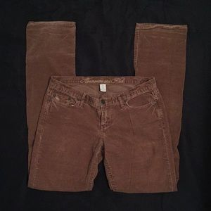 Abercrombie & Fitch Corduroy Pants